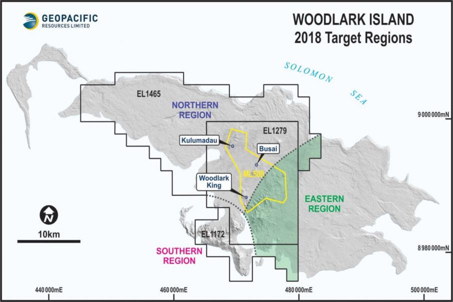 Geopacific picks up 1.4km gold zone in PNG