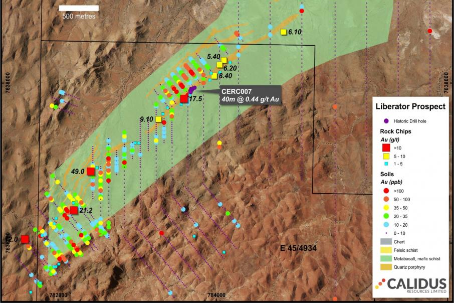 Calidus unearths 10 gold anomalies in the Pilbara