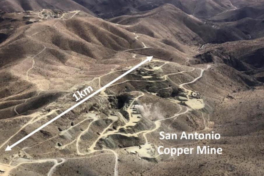 Hot Chili hits high grade copper near Productora