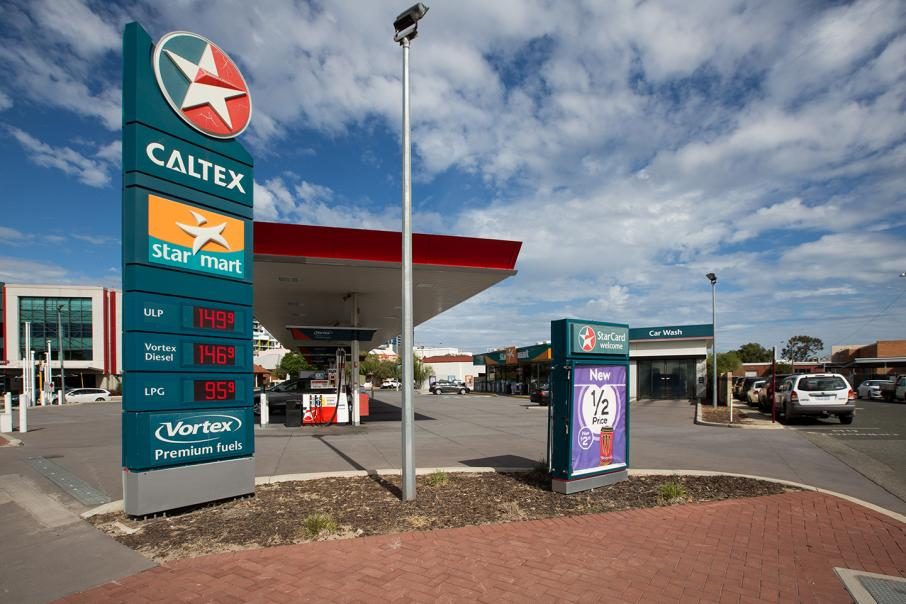 Caltex eyes part-sale of retail assets