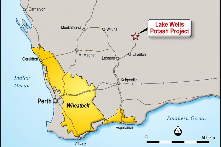 Australian Potash lands Lake Wells mining leases