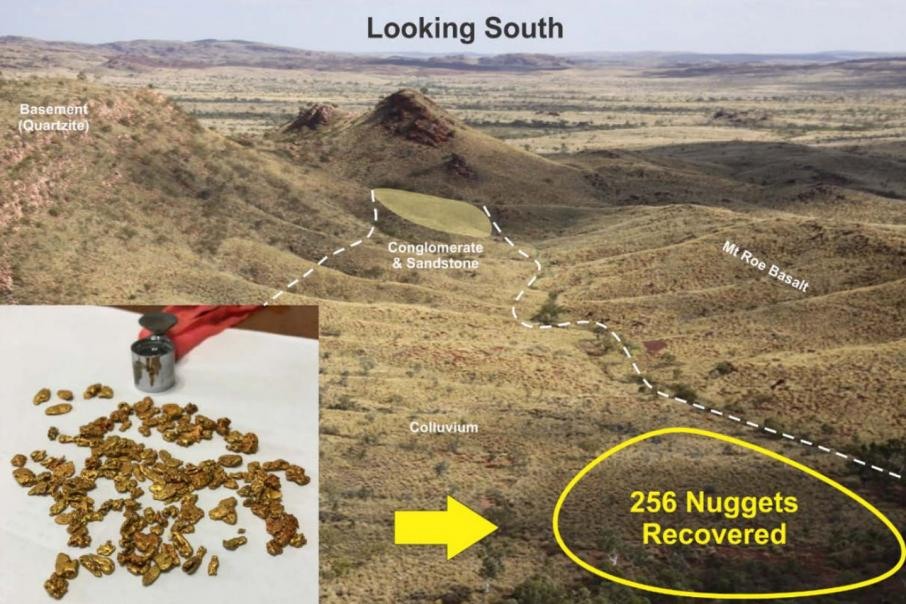 Kairos in Pilbara nugget find
