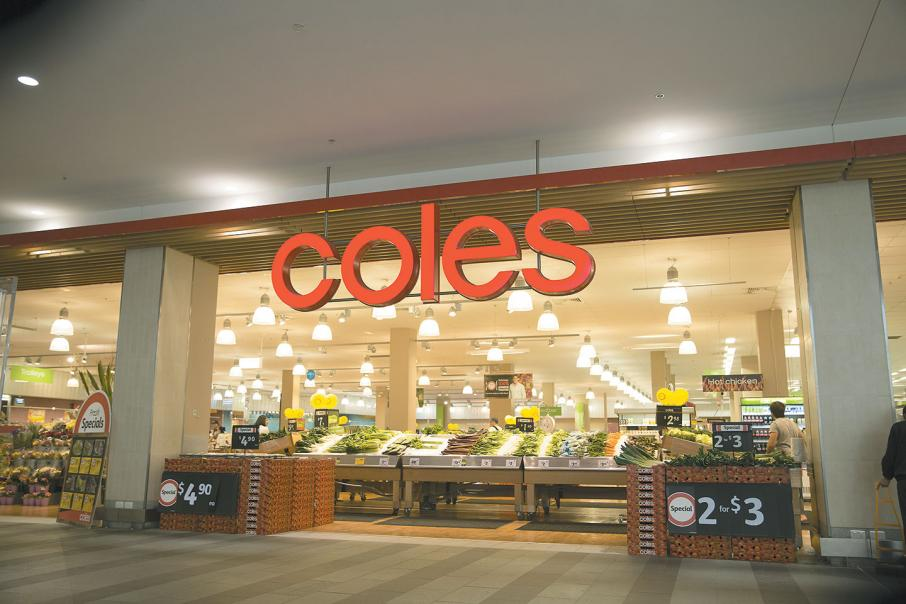 Coles' first quarter food sales jump 5.1%