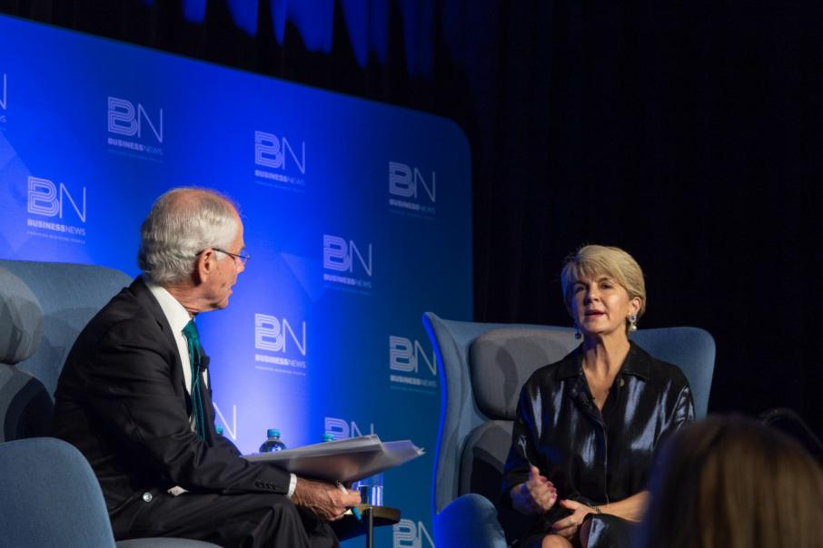 Julie Bishop on leadership, women and her future
