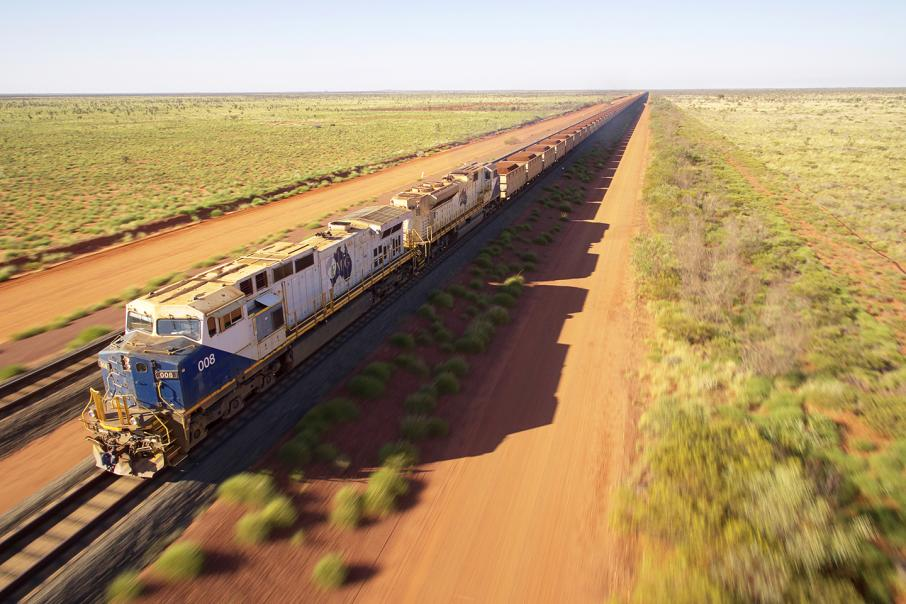 Fortescue shipments fall 8.6%