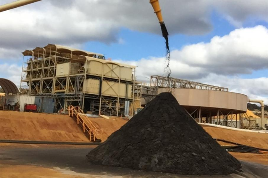 Image produces first heavy mineral concentrate in WA