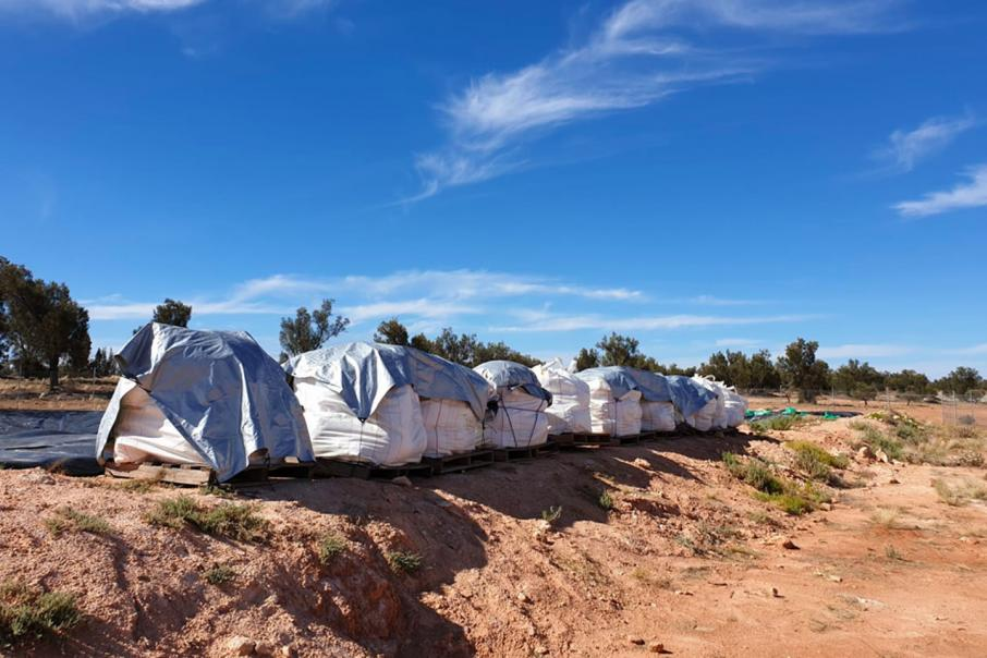 Australian Potash harvests first potassium rich salts