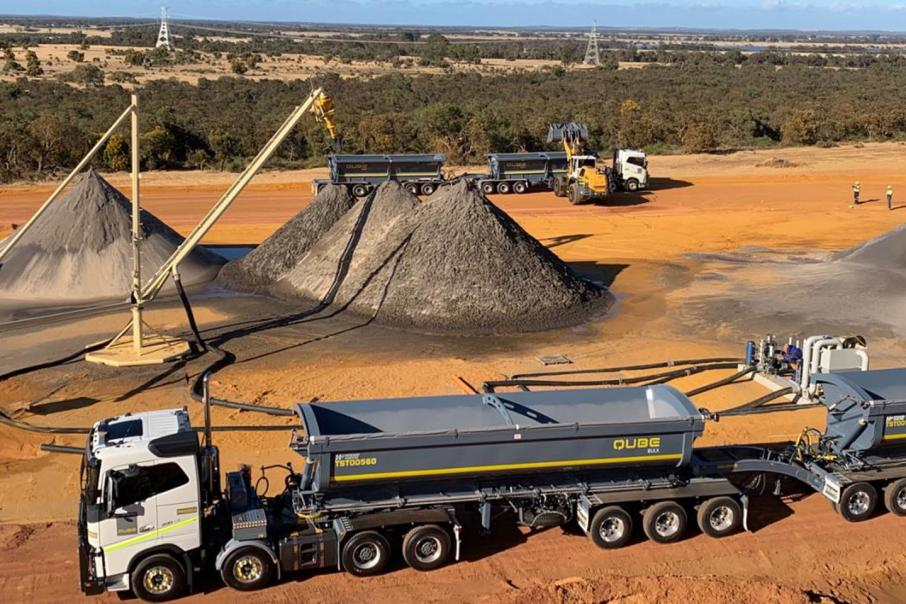 Image on the verge of 1st mineral sands revenues