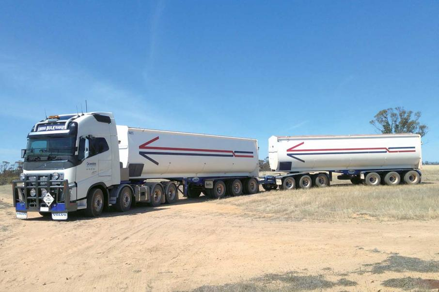 Bulk Transport and Logistics Business For Sale