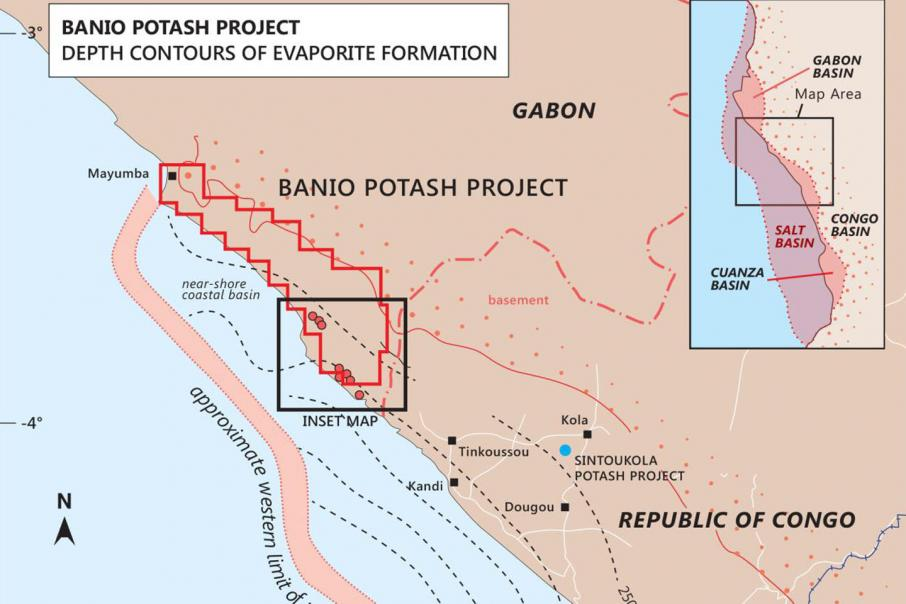 Infinity seeks options for new Gabon potash resource