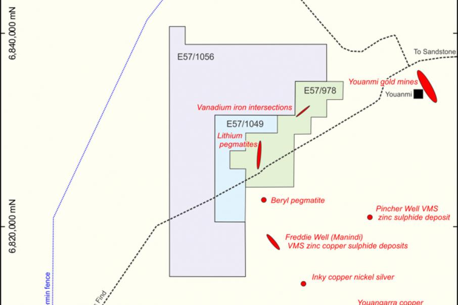 Lithium Australia formalises option over WA ground