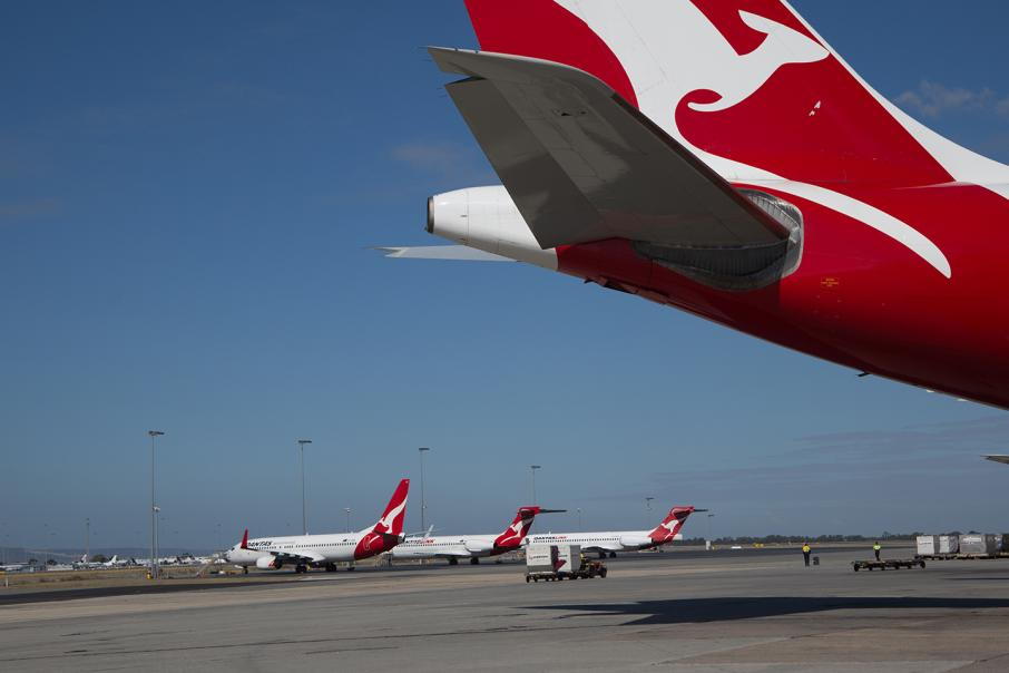 Perth Airport launches $11.3m writ against Qantas