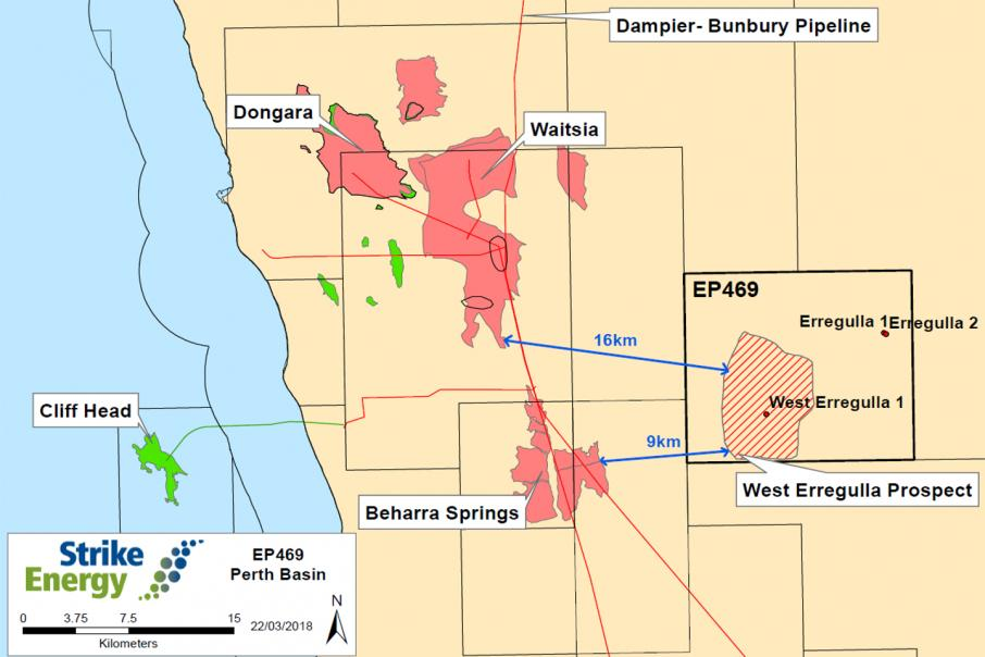 Strike to share rig mobilisation costs in Perth Basin