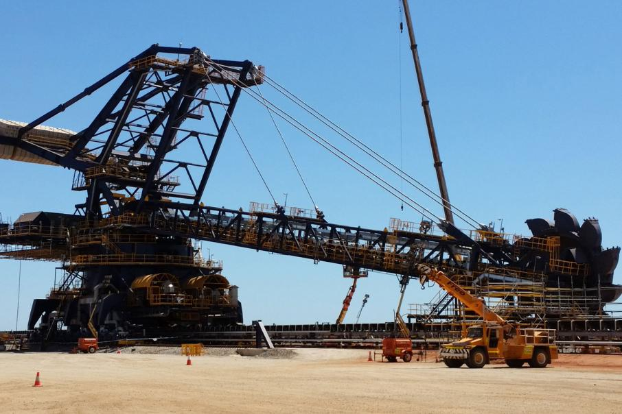 Rio Tinto iron ore production up 2%