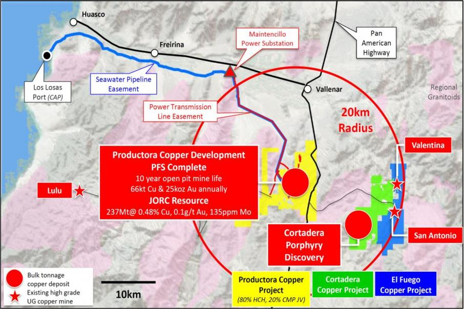 Hot Chili acquires major new copper project in Chile