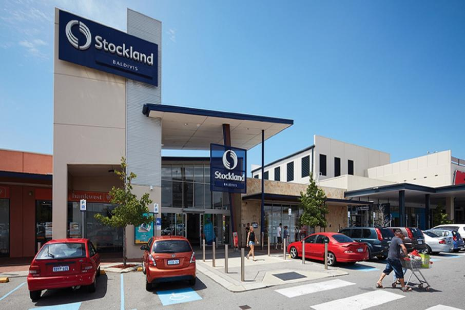 Stockland shares slump as profit slides