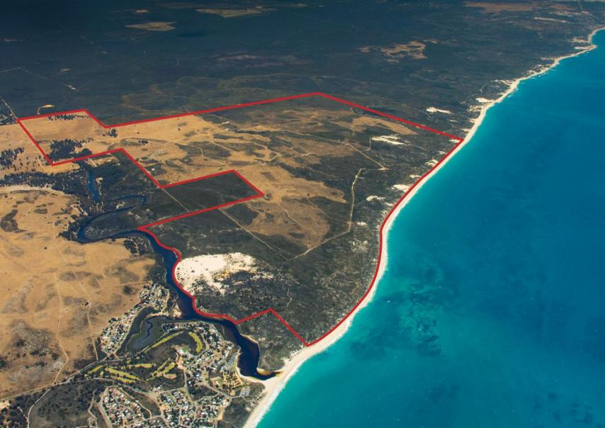 2,000-lot Moore River site hits market again