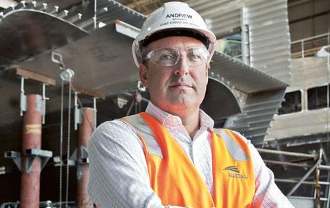 Austal preps new CEO as Bellamy quits