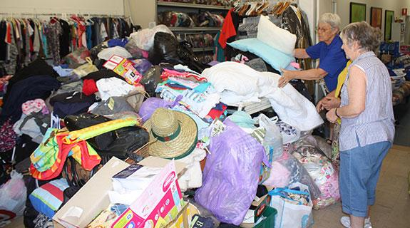 Vinnies overwhelmed by fire response