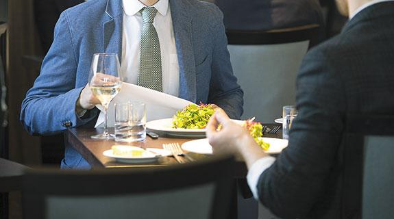 Lunch an art form in sales science