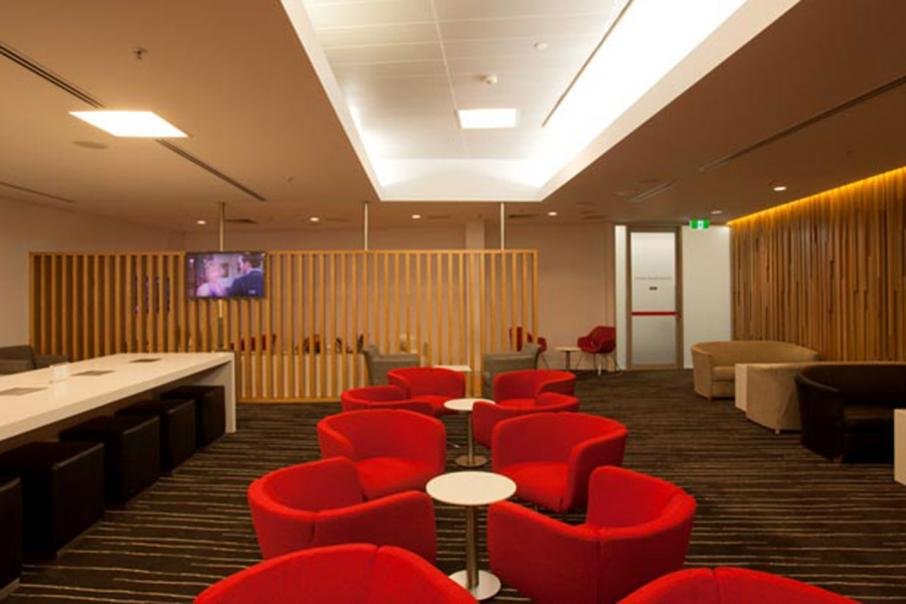 New Qantas lounge at Karratha Airport