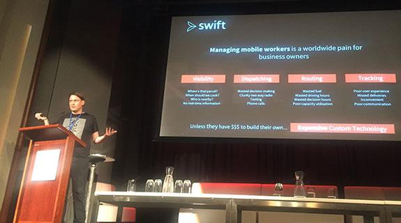 Swift wins Curtin OzAPP award