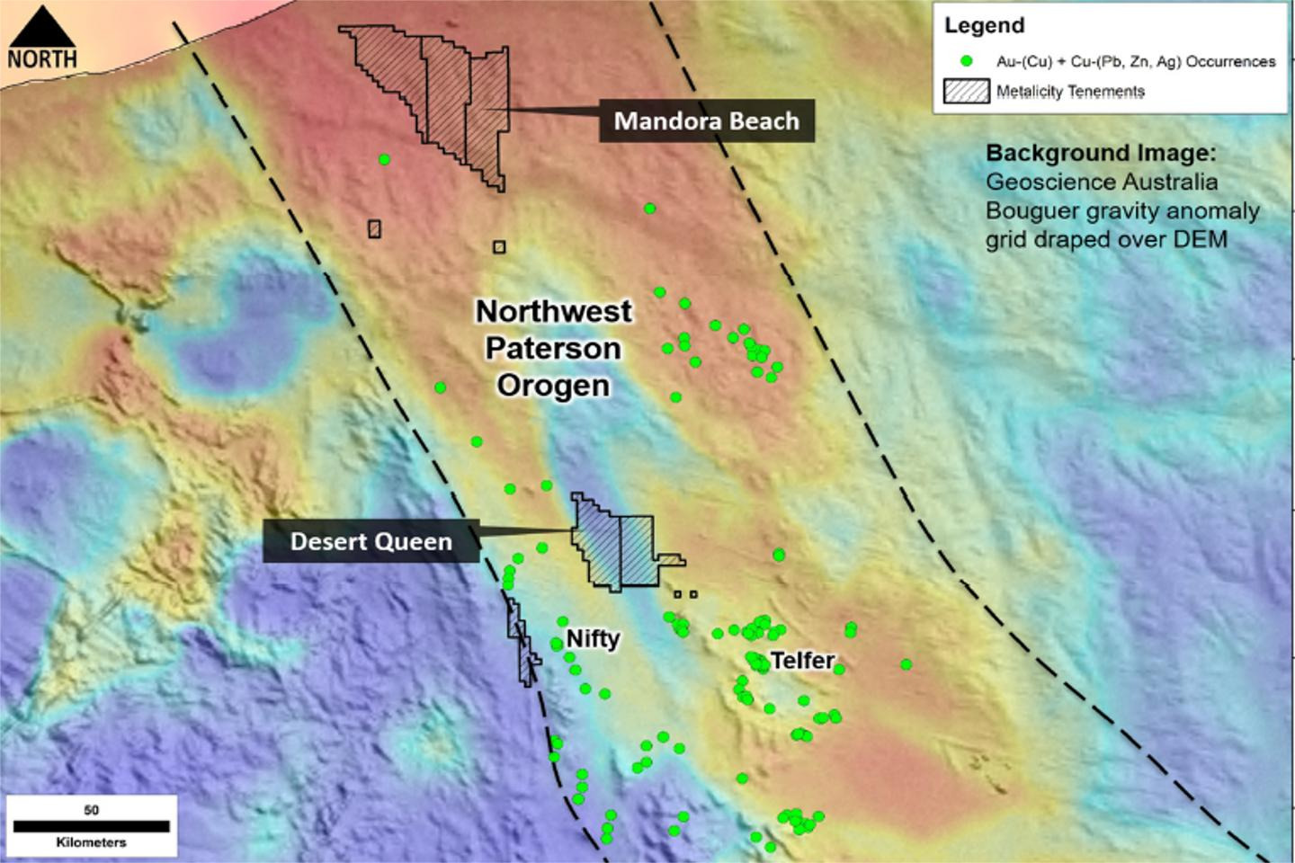 Metalicity defines targets for new Pilbara copper play
