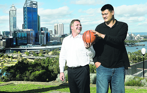 Building a bridge from basketball to business