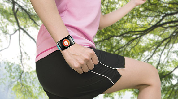 With fitness in fashion, wear the technology